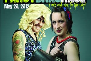 Ashgate Hospice Fancy Drag Race Poster