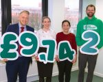 £9,742 raised by Macmillan will campaign