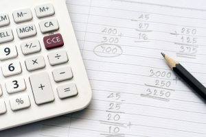 Calculating Judgment Debt Installments With A Calculator And Pencil