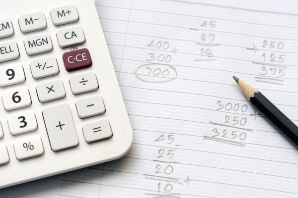 Calculating Judgment Debt Installments With A Calculator And Pencil