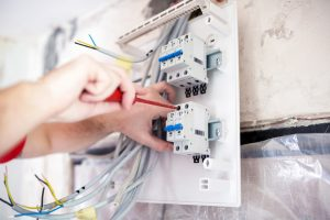 Installing electrical circuit in a rented property