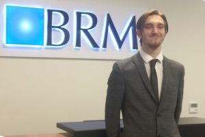 Paralegal Harry Loftus at the Sheffield Office of BRM Solicitors