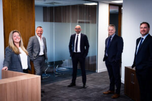 BRM's Executive Directors At The Sheffield Office